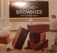 Mini Brownies - Nutrition facts - fr