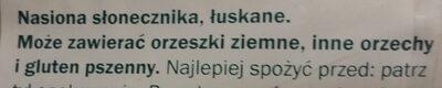 Słonecznik łuskany - Składniki - pl
