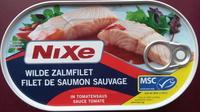 Filet de saumon sauvage sauce tomate - Produit - fr