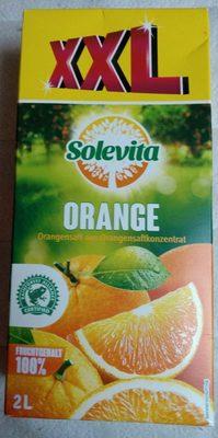 Jus d'orange à base de jus d'orange concentré - Produkt
