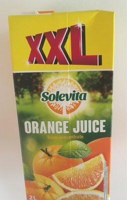 Jus d'orange à base de jus d'orange concentré - Product