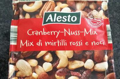 mix de cranberry rouge et noix - Product