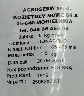 Jabłka - Składniki - pl