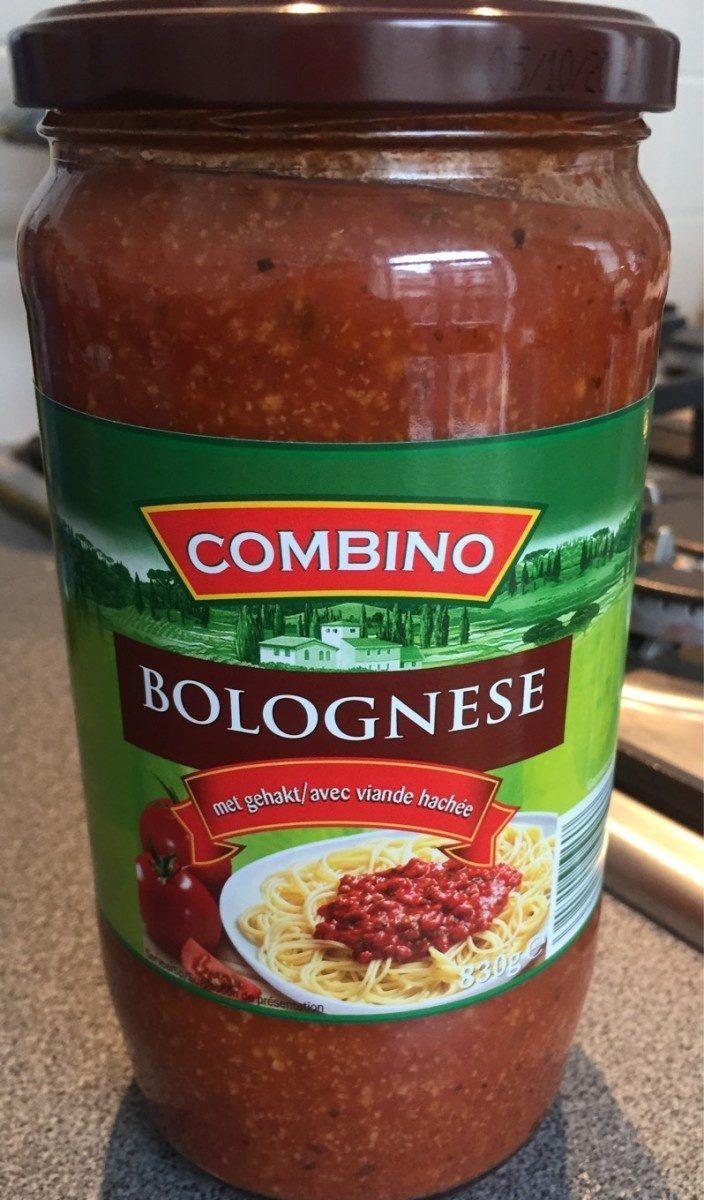 Bolognaise (avec viande haché) - Product - fr
