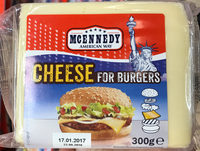 Cheese for burgers - Product - fr