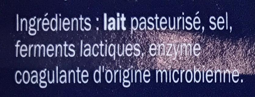 Cheese for burgers - Ingrediënten - fr
