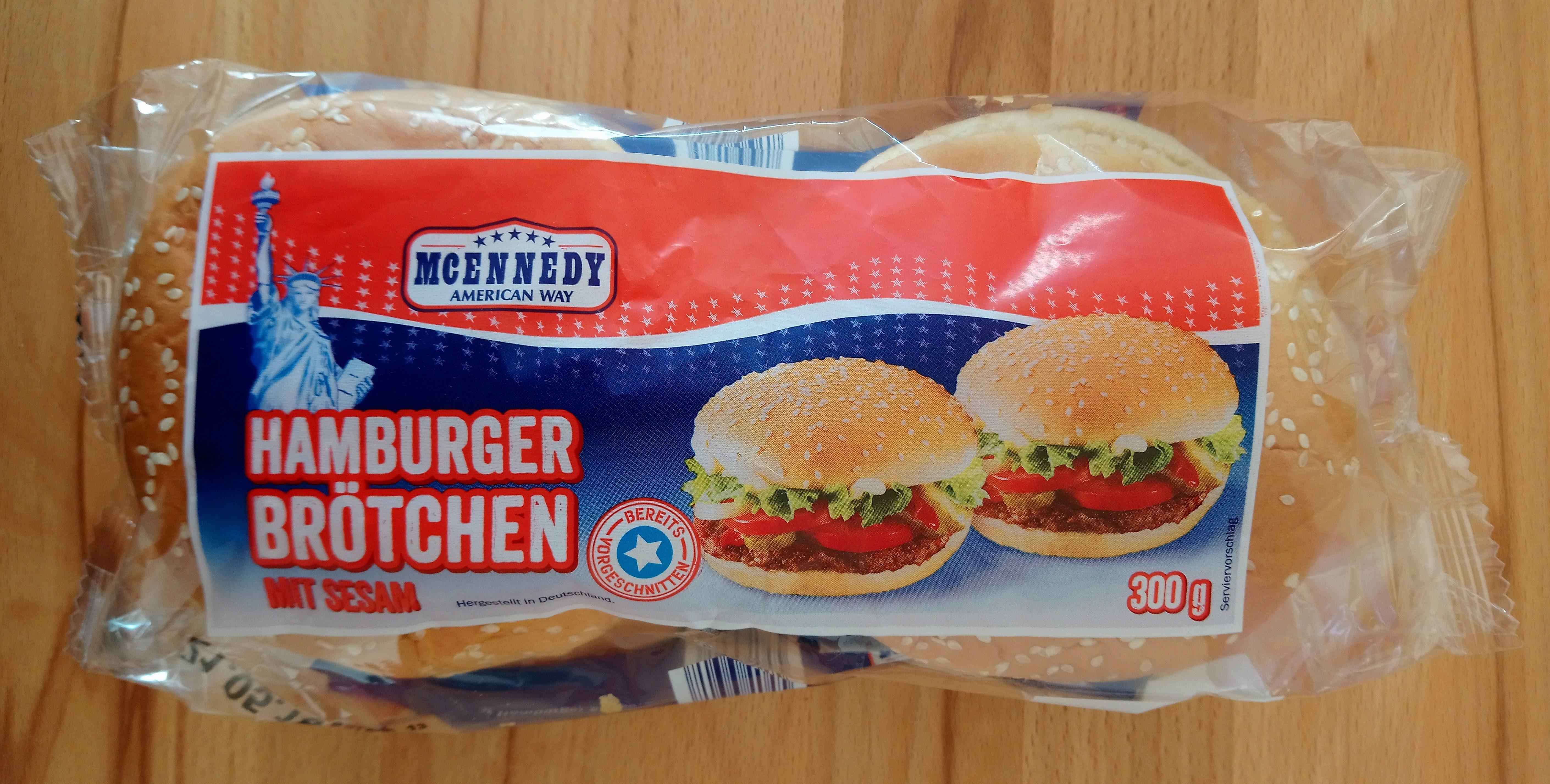 Pains spéciaux pour hamburgers - Produkt - de