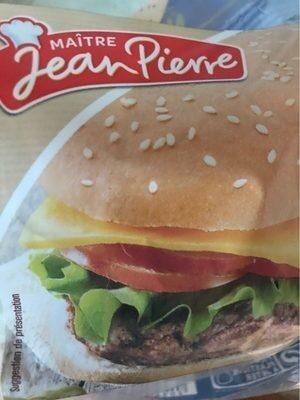Pains spéciaux pour hamburgers - Produit - fr