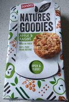 Natures Goodies, Apple & Raisin - Product