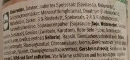 Rinderbrühe - Ingredients - de