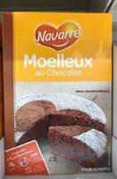 Préparation pour gâteau Moelleux au Chocolat - Product - fr
