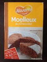 Préparation pour gâteau Moelleux au Chocolat - Voedingswaarden - fr