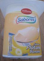 Yogur sabor platano - Producte
