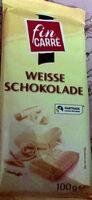 Weisse schokolode - Produkt