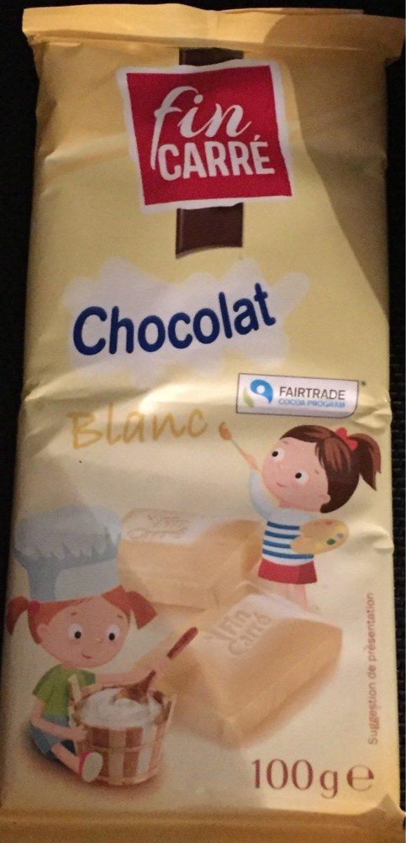Chocolat blanc - Produit - fr