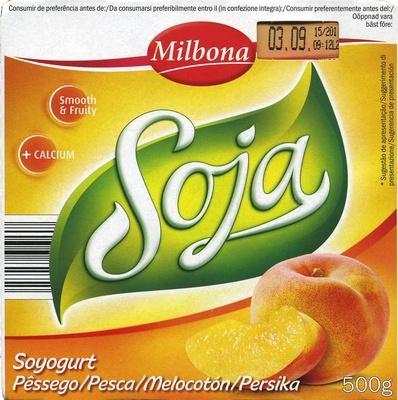 Postre de soja Melocotón - Producte