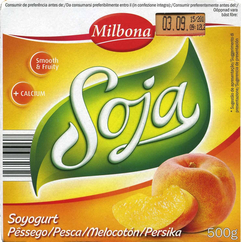 Postre de soja Melocotón - Producto - es