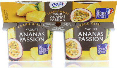 Yaourt ananas passion - Produit - fr