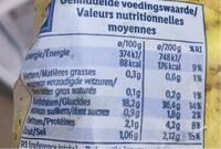 Pdt mini grenailles - Nutrition facts - en