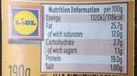Queijo Curado Mistura - Nutrition facts - en