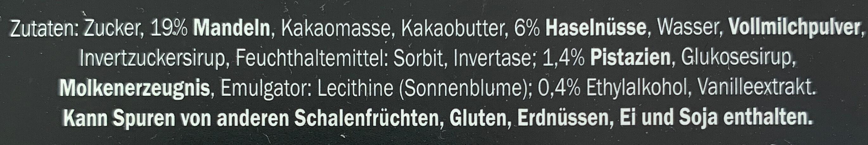 Mozart Kugeln - Ingredients