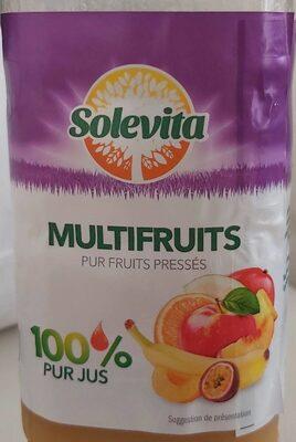 Multifruits Pur fruits pressés - Product - fr
