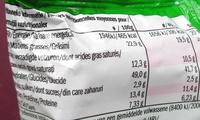 Instant Thai Noodles Prawn Flavour - Informations nutritionnelles - fr