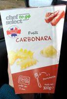 Fusili à la Carbonara - Product