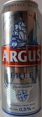 Argus-beer -alcohol Free-500ml-international - Продукт - bg