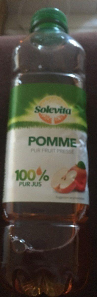 Pomme pur fruit pressé - Produit - fr