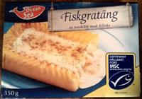 Ocean Sea Fiskgratäng av torskfilé med dillsås - Product