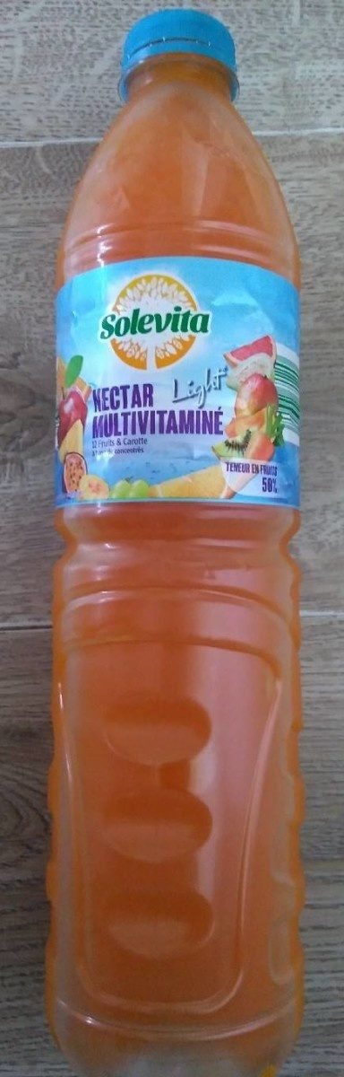 Nectar multivitaminé light Solevita - Product