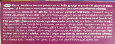 Barra Exotic - Ingrediënten