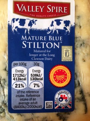 Mature blue Stilton - Produit - en