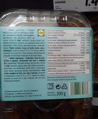 Boulettes végétarienne à base de pois chiches et de légumes - 5