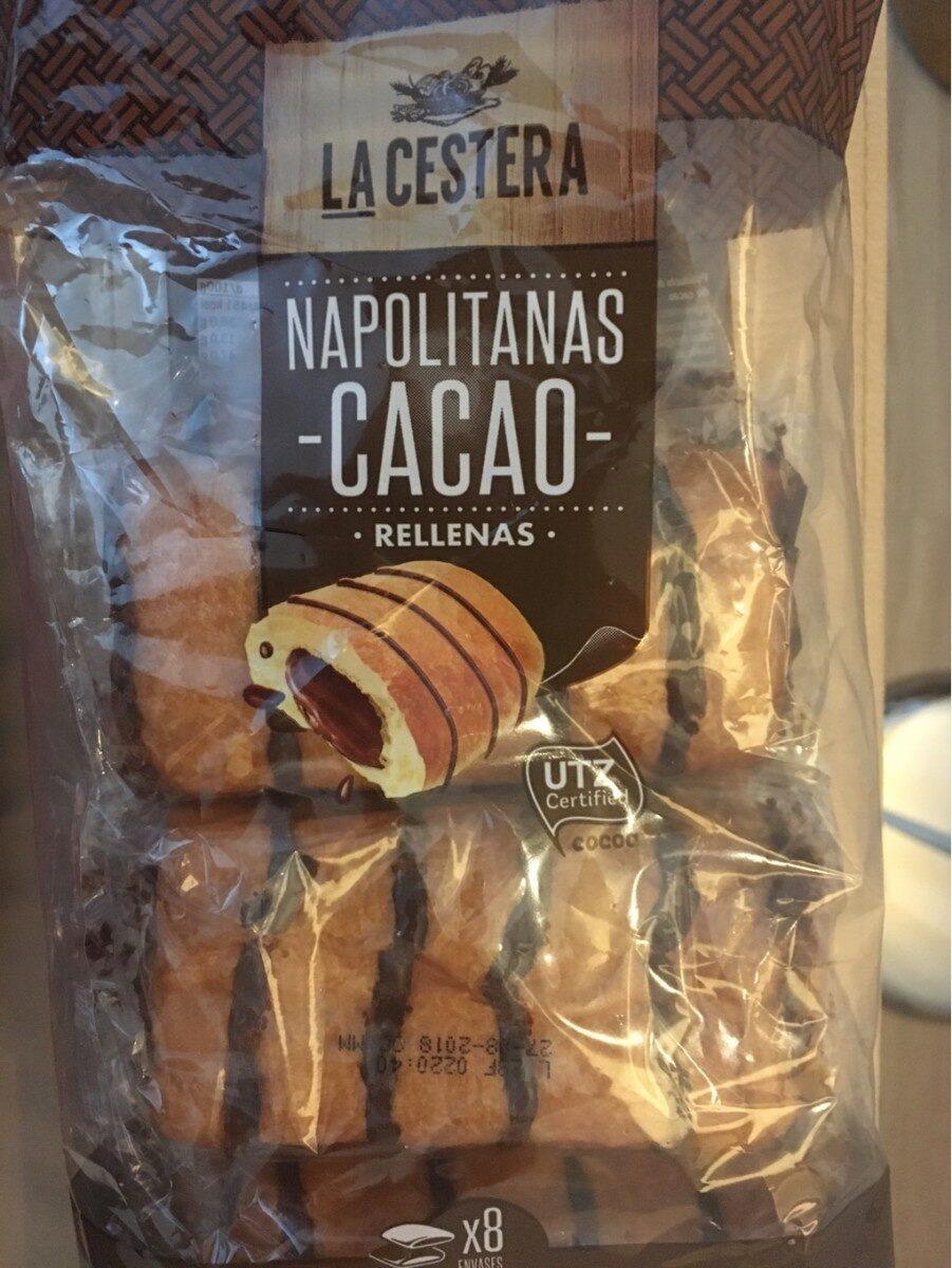 Napolitanas cacao - Product - es