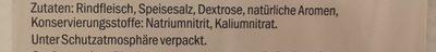 Bresaola della valtellina i.g.p. - Ingredients