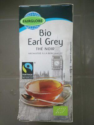 Bio Organic Earl Grey - té negro aromatizado - Producto - es