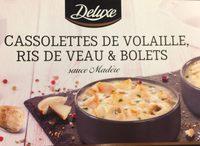 Cassolettes de volaille, ris de veau et bolets - Product - fr