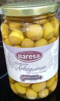 Aceitunas arbequinas - Producto - es