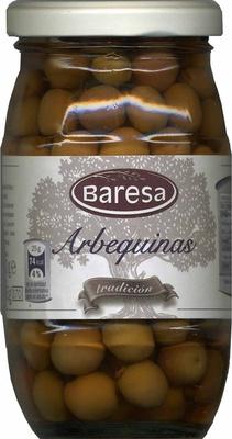 """Aceitunas de color cambiante enteras """"Baresa"""" Variedad Arbequina - Producte"""