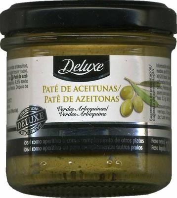 Paté de aceitunas verdes arbequinas