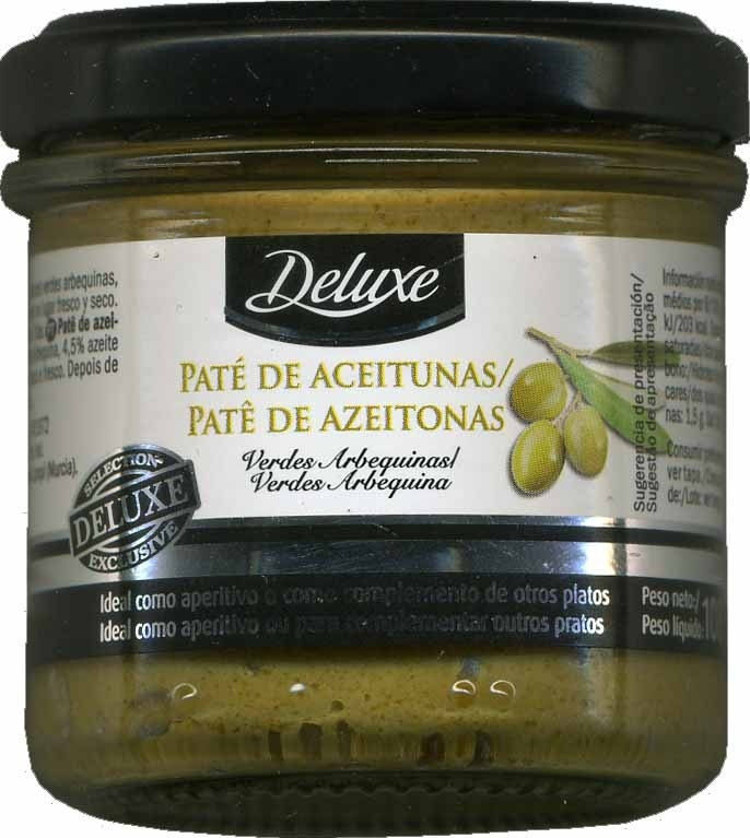 Paté de aceitunas verdes arbequinas - Producto - es
