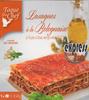 Lasagne à la Bolognaise à l'huile d'olive vierge extra (0,2%) - Producto