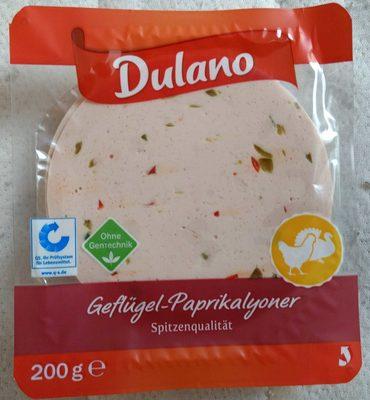 Geflügel Paprikalyoner - Produkt - de