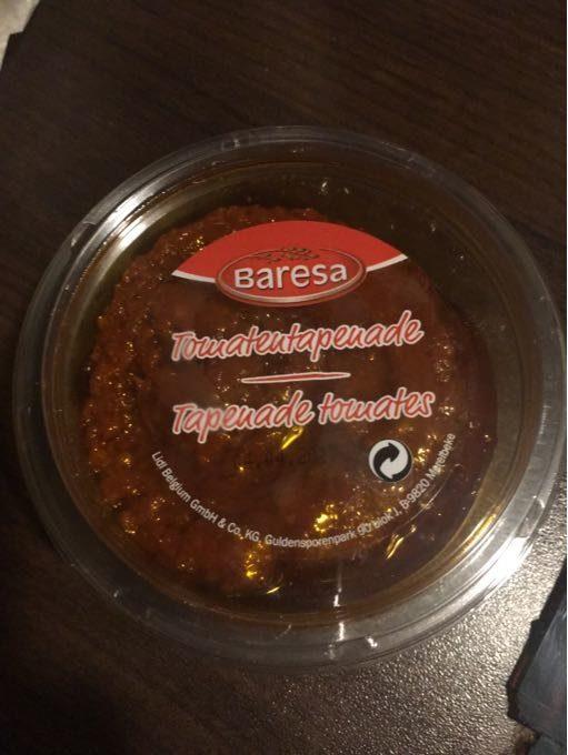 Tomatentapenade Bakje 150 Gram (baresa) Koeling - Produit