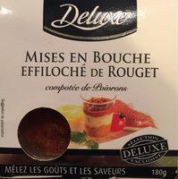 Mise en bouche effiloché de rouget - Produit - fr