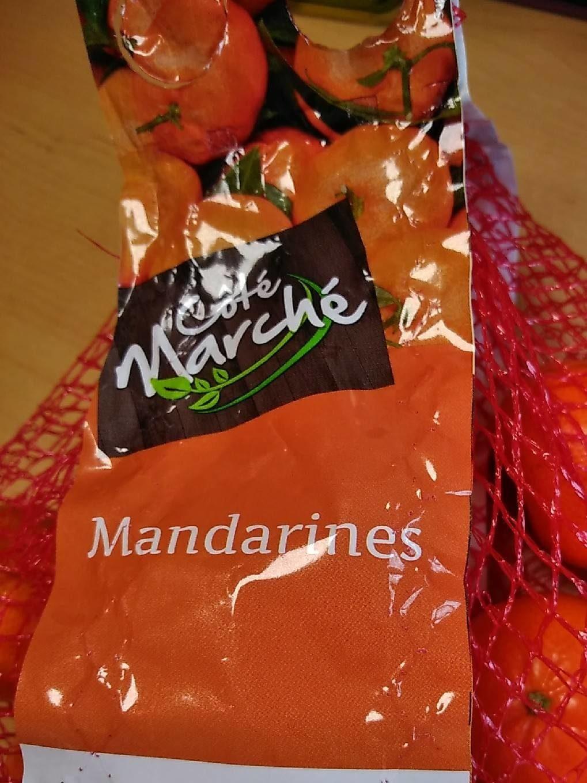 Mandarines - Nutrition facts - fr