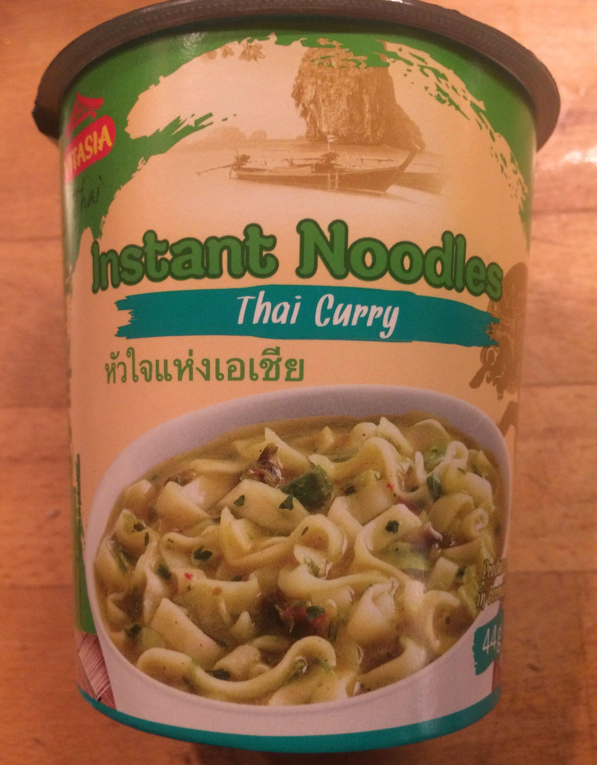 Thai Terrine Grünes Curry Scharf, Nudelsuppe Mit C... - Produit