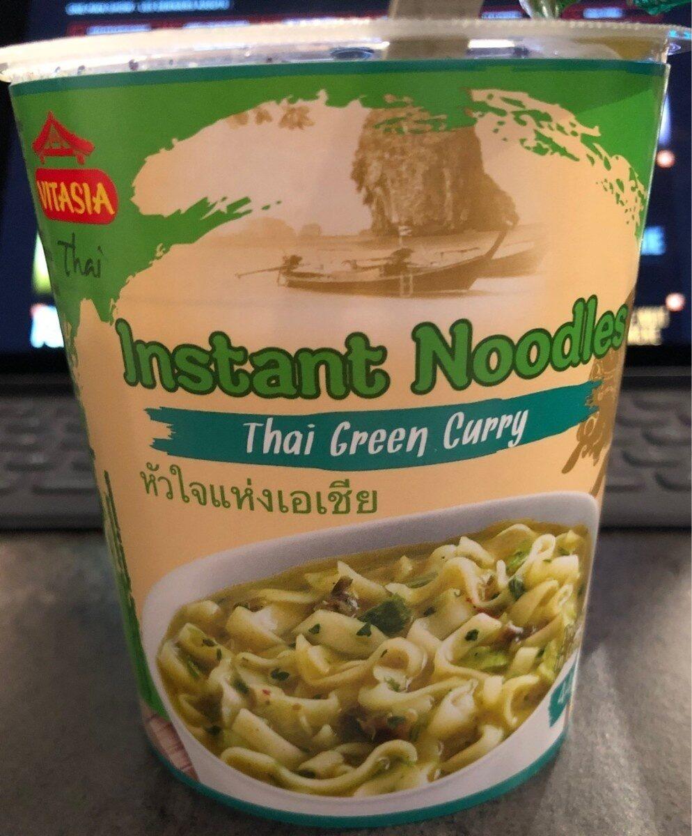 Thai Terrine Grünes Curry Scharf, Nudelsuppe Mit C... - Produit - fr